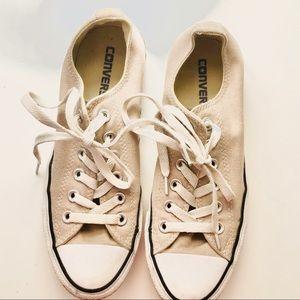 Tan Converse